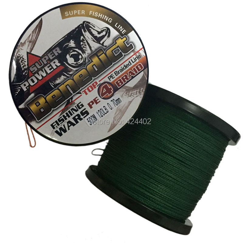 500m brand new japan pe multifilament for Best fishing line brand