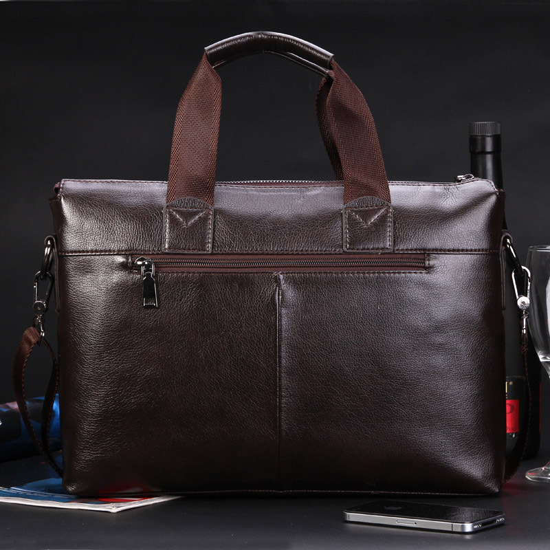 luxury designer leather men handbag bag classic men s travel bags