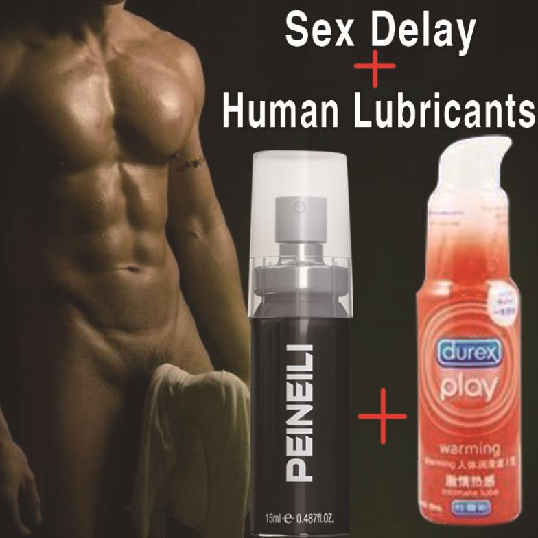 Интимная смазка PEINEILI 2 ,  Durex Sex delay + body lubricants вибростимулятор throbbing g spot lavender