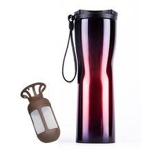 Xiaomi термосы Moka умная Вакуумная бутылка кофе термос сенсорный температурный дисплей Нержавеющая сталь кофе изоляционная чашка(China)