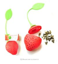 Buy DealsOcean 2Pcs Silicone Strawberry Tea Infuser Loose Leaf Tea Strainer Herbal Spice Infuser Filter Tools for $1.00 in AliExpress store