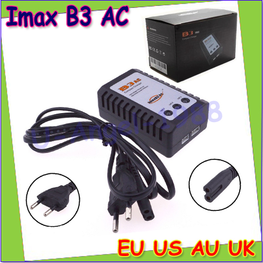ImaxRC B3 PRO 2-3 Cell Balance Compact Charger 110-240V+free shipping