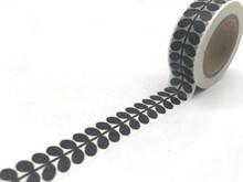 2019 serie negra Washi Tape Kawaii cinta adhesiva lote atrapasueños rejilla japonés DIY Scrapbooking Fita Adesiva Papeleria(China)