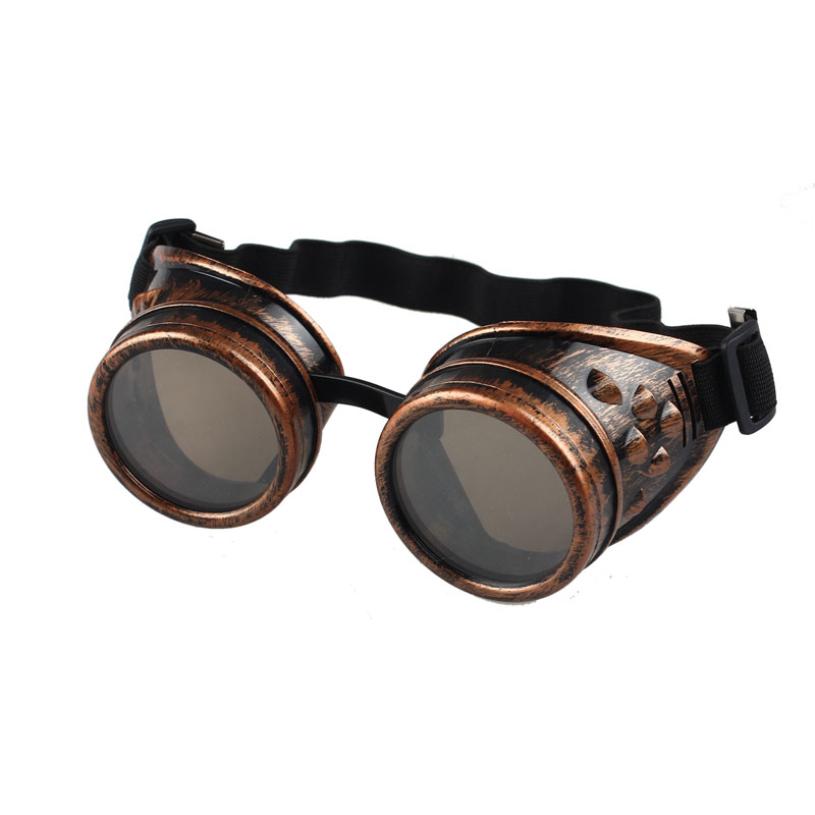 New brand mens Sunglasses 2015 Vintage Steampunk Goggles Punk Sun Glasses occhiali