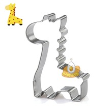 """""""Free Shipping"""" 12pcs/lot giraffe custom cookie cutter fondant cake decorating tools kitchen accessories baking tools for cakes"""