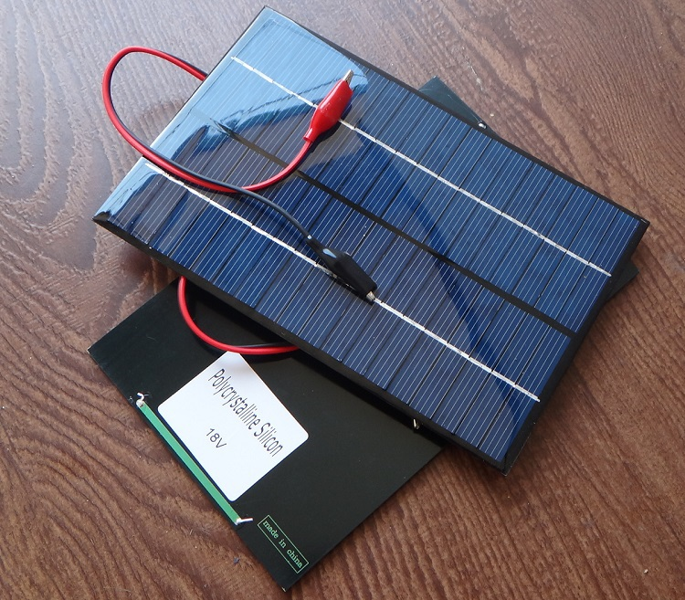 10 pcs/lots 4.2W 18V Solar Cell Polycrystalline Solar Panel+Crocodile Clip For Charging 12V Battery 200*130*3MM NEW <br><br>Aliexpress