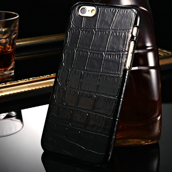 Luxury Retro Crocodile Skin Silicone Case Coque For iPhone 6 4.7 Inch Mobile Phone Back Cover Vintage Fundas Cases For iPhone6(China (Mainland))