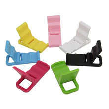 Universal Foldable Cellphone Mini Mount Holder Stand for iPhone 5 5S / 4 / 4S Huawei Xiaomi HTC Samsung 1 Pcs