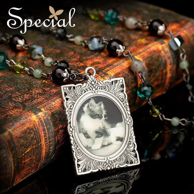 Special Alloy Pendant Long Necklaces Free Shipping Crystal Vintage Pendant Necklaces XL141158