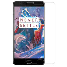 Nillkin OnePlus 3 3T Glass Screen Protector Premium 9H 2.5D Curved Edge Tempered Film / - Aliantech Store store