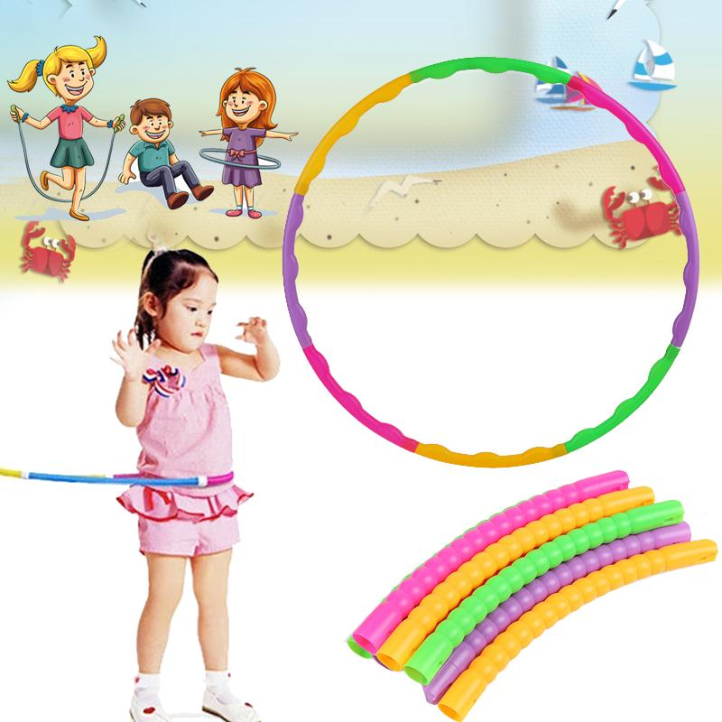 65cm Children Hula Hoop New Universal Fitness Child Gymnastic Adjustable Kids Sport Accessories Lose Weight Massage Exercise(China (Mainland))
