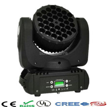 Buy High LED beam moving head light 36X3W rgbw 4in1 color dmx channels stage light dj disco parties show lights led beam for $165.00 in AliExpress store