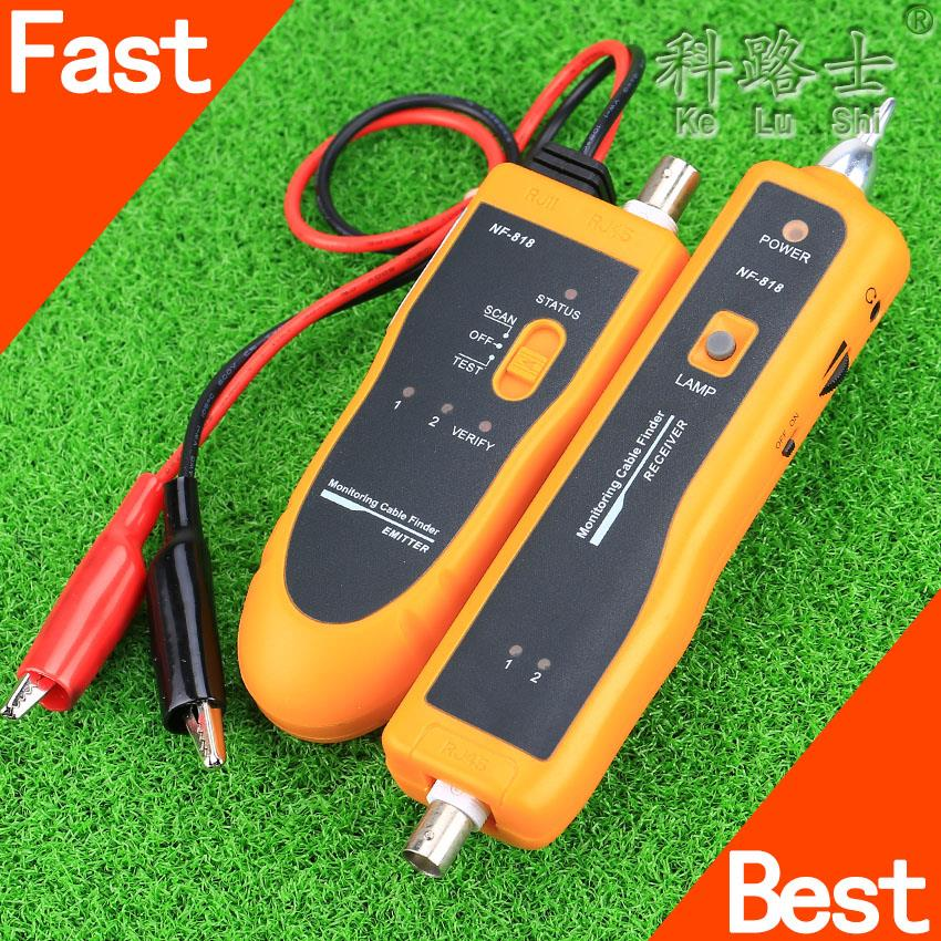 NF-818 BNC Cable tracker monitor line scanner&tester Cable Wire Fault Locator(China (Mainland))