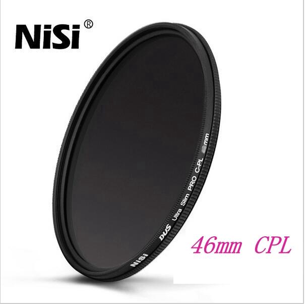 NISI 46mm DUS CPL Camera Lens Filter,Professional Ultra Slim Filter Lens Protector Polarizer Filter,Universal Type Camera Filter(China (Mainland))
