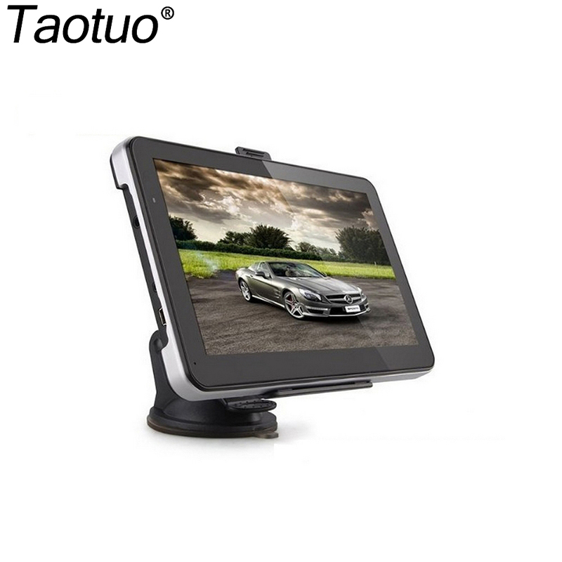7 inch GPS Navigation FM 128MB 800MZ Europe/USA/Austria/Africa/Middle East/ Southeast Asia Map Car GPS Navigator(China (Mainland))