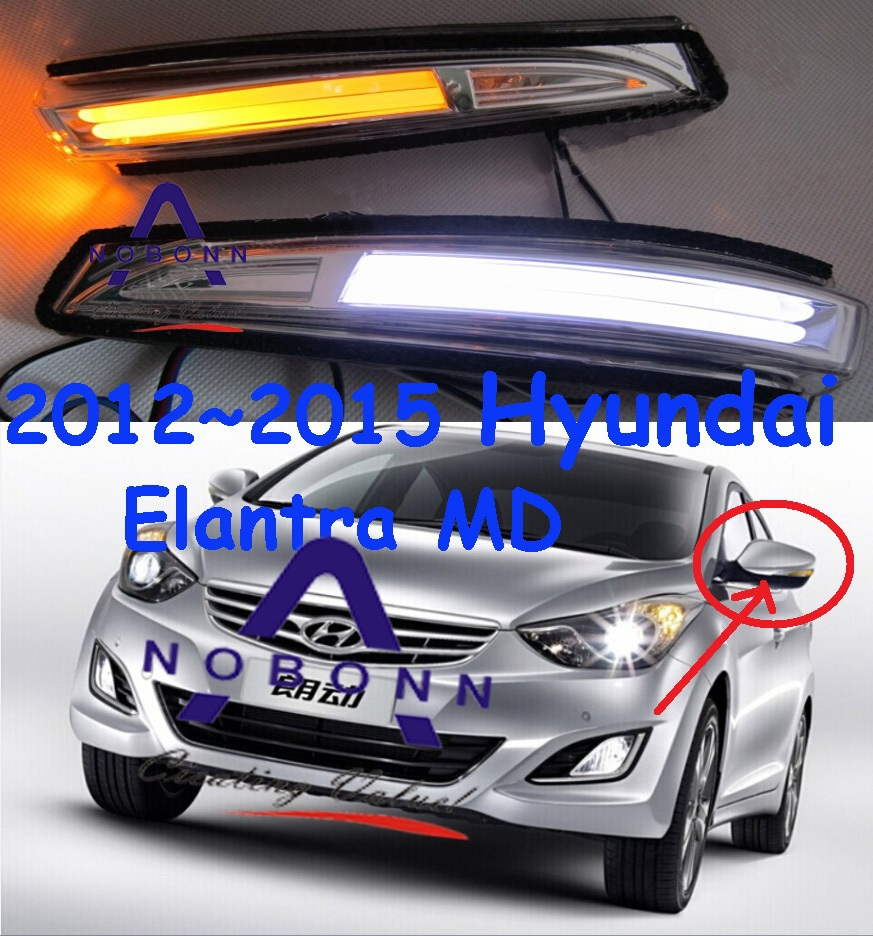 Здесь можно купить  Free Ship!2012~2015 Hyundai Elantra MD LED Re-view mirror light with Yellow,2pcs/set(1pcs L+1pcs R),5W 9~18V,excellent quality! Free Ship!2012~2015 Hyundai Elantra MD LED Re-view mirror light with Yellow,2pcs/set(1pcs L+1pcs R),5W 9~18V,excellent quality! Автомобили и Мотоциклы