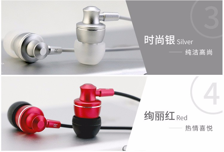 Langsdom M300 Metal Super Bass In-ear Earphone Volume Control with Mic Headset Earbud for iphone Sony Xiaomi Mp3 fone de ouvido