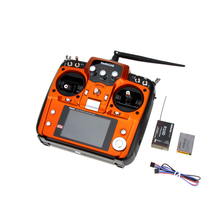 5Pcs RadioLink AT10 RC Transmitter 2.4G 10CH Remote Control System with R10D Receiver for RC Airplane Helicopter Wholesale