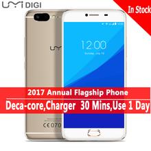 UMI Z Оригинальный Helio x27 Первый Запуск Дека Core 13MP Камеральная Full Metal Unibody Смартфон 5.5 'Unlocked Мобильного Телефона Android 6.0(China (Mainland))