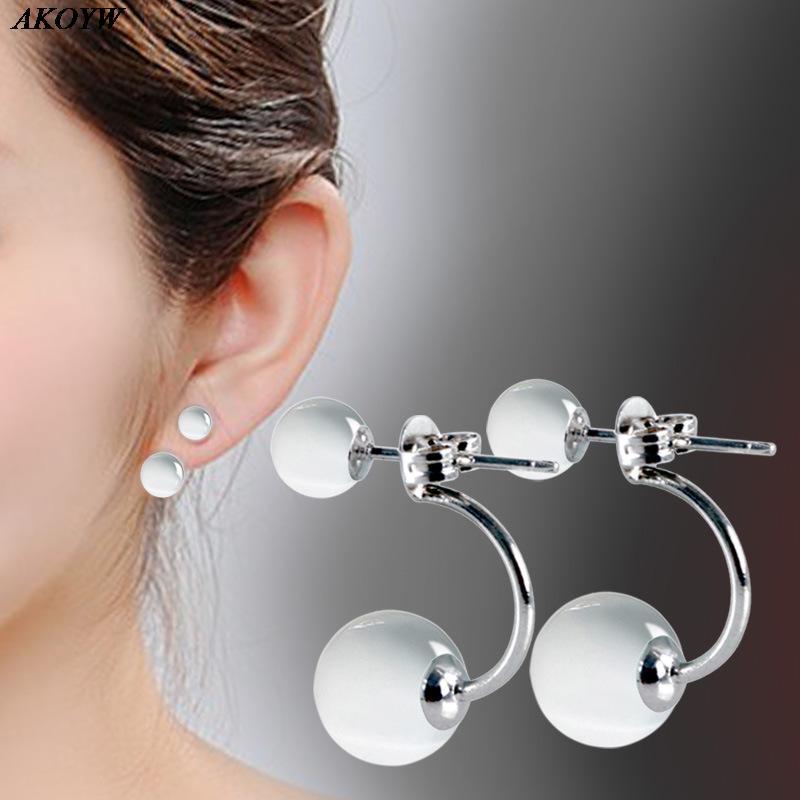 925 sterling silver stud earrings female models opal jewelry gift wedding hotel nightclub women's jewelry(China (Mainland))