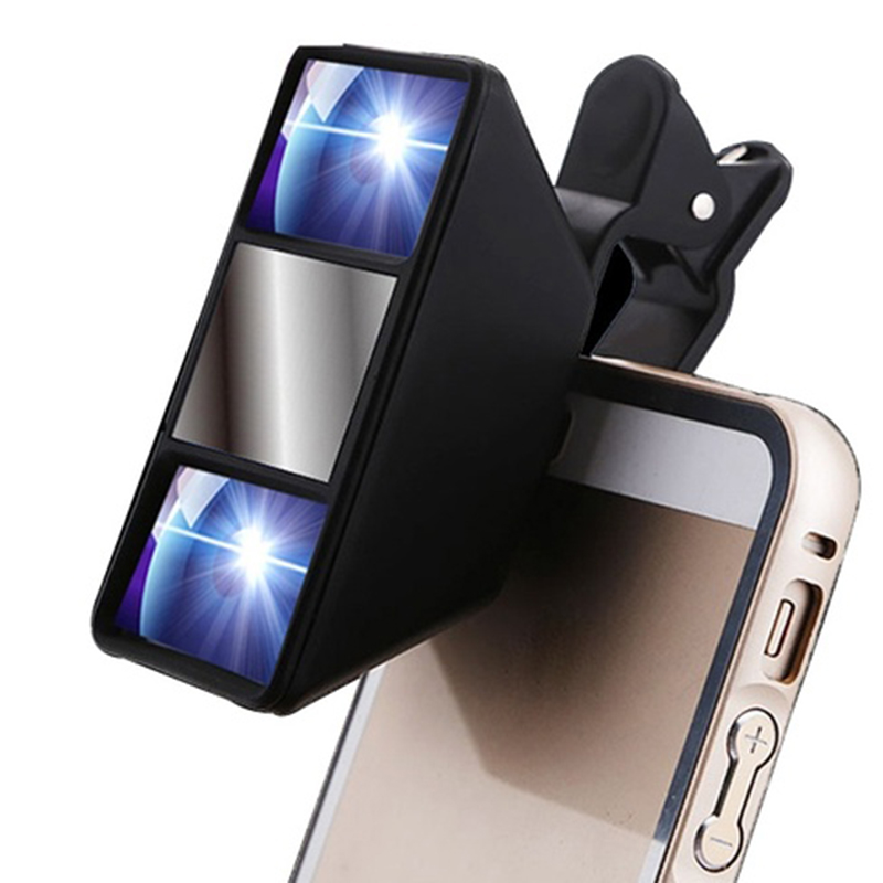 New Creatively Design Mobile Phone Lens 3d Magical Special Effects Cell Phone Universal Camera For Android(China (Mainland))