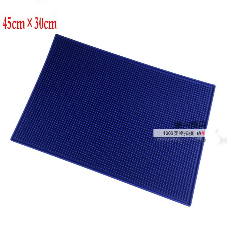 Wholesale Pvc Rubber Bar Mats Beer Cup Mat Non Slip Pad