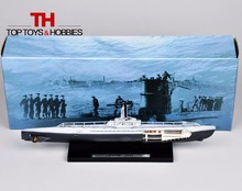 Military Submarine Model Atlas 1:350 German XXI grade U-Boat U-2540-1945 Boat Ship Scale Toys Collection Souvenirs(China (Mainland))