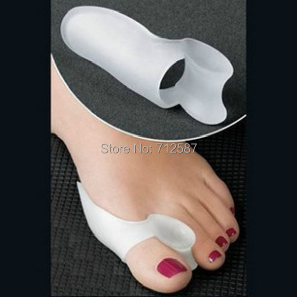 1Pairs/2pcs Feet Care Silicone Gel Toe Separator Bunion Guard foot Care Little Toe Bunion Guard Foot Hallux Valgus for Women(China (Mainland))