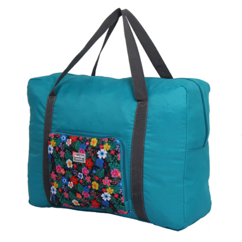 2017 Hot New Big Size Organizer Waterproof Travel Large Capacity Bag Women Nylon Folding Bags Luggage Travel Handbags M007(China (Mainland))