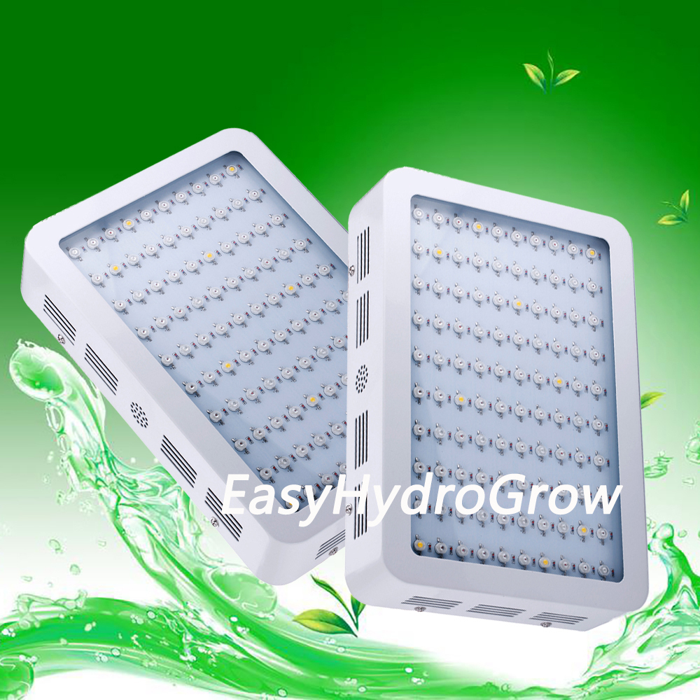 2PCS/Pack 10Bands 300W EasyHydroGrow Medical Flower Plants Grow and Flower LED Grow light Panel(China (Mainland))