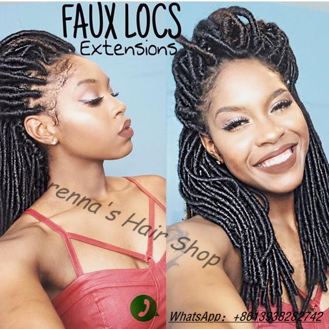 Crochet Braids Faux Locs : ... faux locs crochet braid hair dreadlocks braids hair dread locs faux