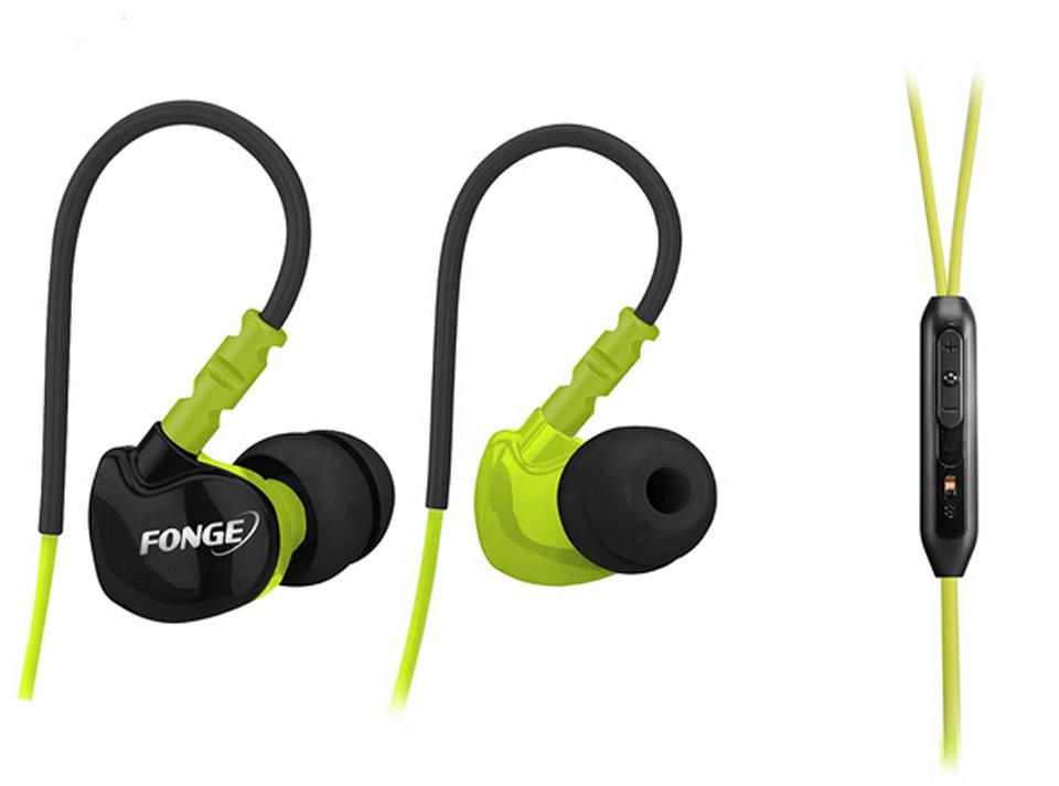 Waterproof Sweatproof IPX5 Earphones Sports Running Headphones HIFI Stereo Bass Headset Ear Hook Earbuds Handsfree With Mic(China (Mainland))