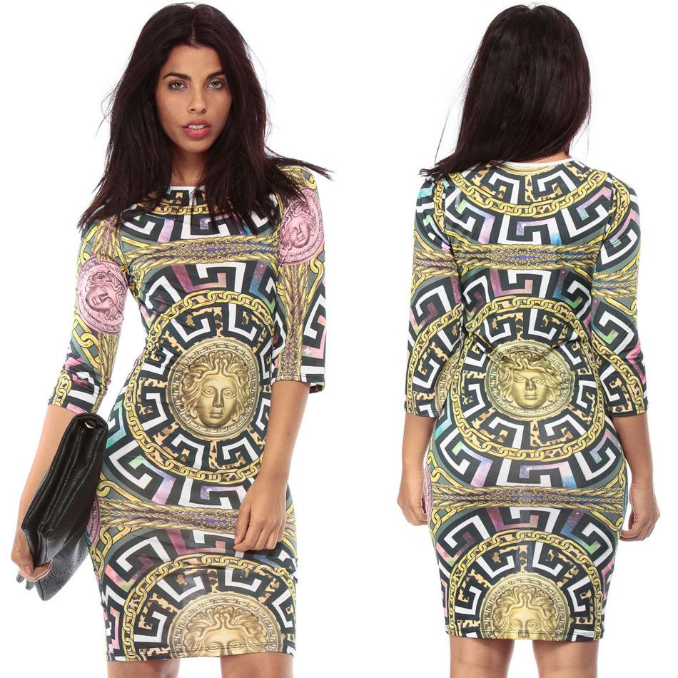 Fiesta Dresses Egypt Print Casual Dress Fiesta