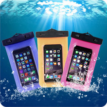 100% Sealed Waterproof Bag Case Pouch Durable Water proof Underwater Cover Case For iPhone 6 6s Plus For Nokia BlackBerry Moto(China (Mainland))