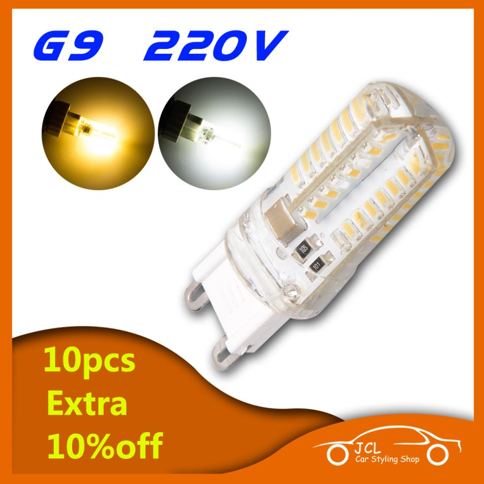 220V G9 LED Lamp SMD 2835 3014 4W 6W 7W 10W Replace 30W halogen lamp 360 Beam Angle LED Bulb Lamps warranty Free Shipping(China (Mainland))