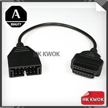 Daewoo GM 12 контакт. до 16 контакт. OBD1 к OBD2 OBD II автоматическая диагностика блока питания кабель