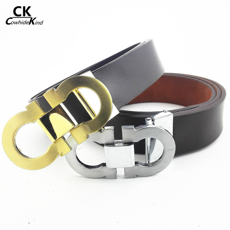 2016 New arrival famous Luxury belts for mens Genuine Leather Belts designer belt buckle high quality cintos para as mulheres(China (Mainland))