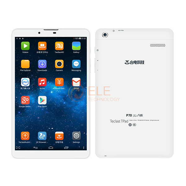 7.0 Inch IPS 1280*800 Teclast P70 3G Phone Call Tablet PC Android 4.4 MTK MT8392 Octa Core 1GB+8GB GPS Wifi ablets(China (Mainland))
