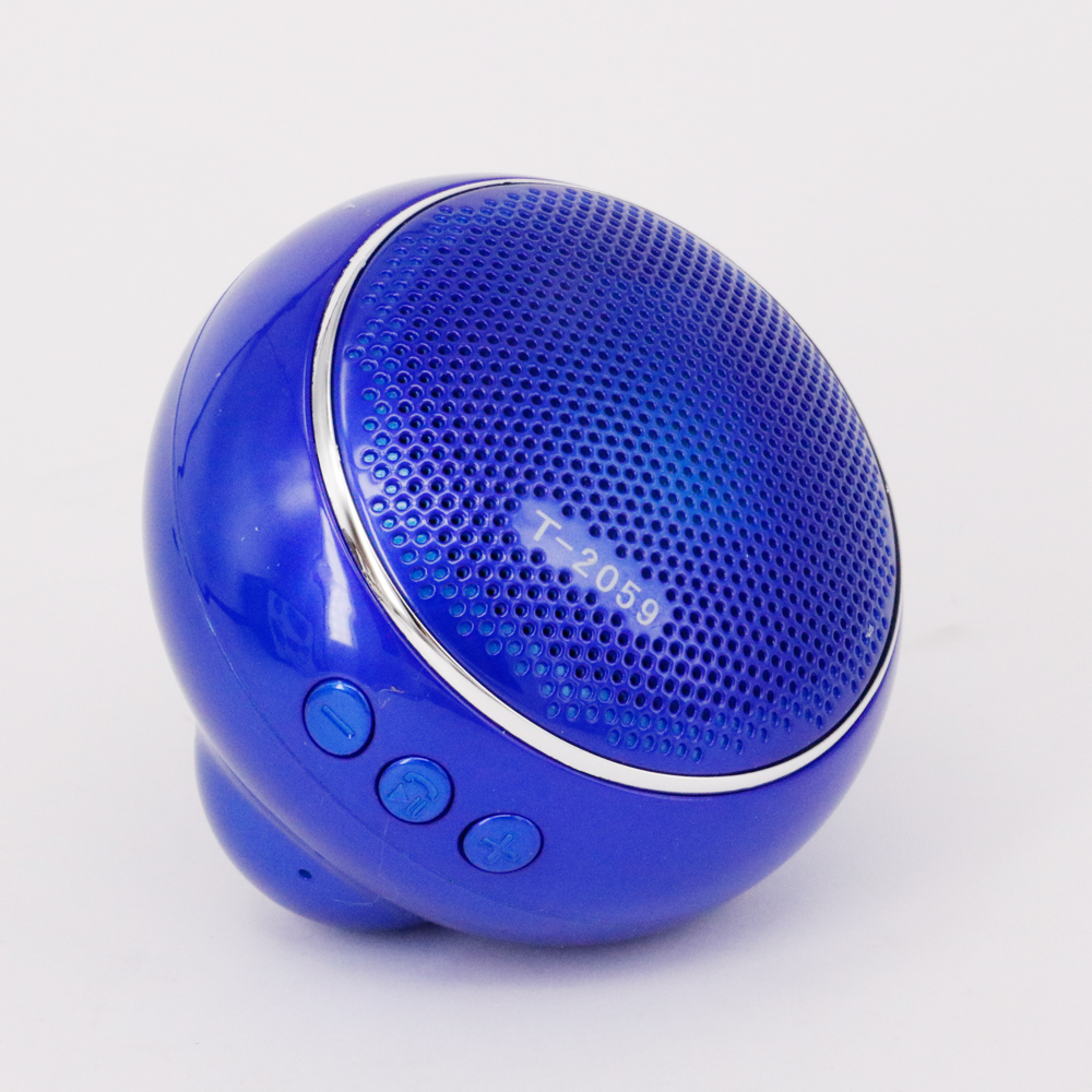 Protable Mini Wireless Bluetooth Speaker T2059 Speakers Support All Bluetooth Device USB/TF Card/FM Handsfree Calling(China (Mainland))