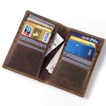 Карточные и ID Держатели  от GuangZhou superha shop для Мужчины, материал Crazy Horse кожа артикул 32388591063