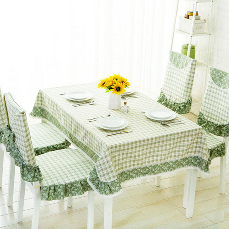 Nappe De Table Pvc Ikea Tablecloth Chair Cover Table Round Tablecloths Lace Cloth Floral Fabric Shabby Chic Wedding Green Plaid(China (Mainland))