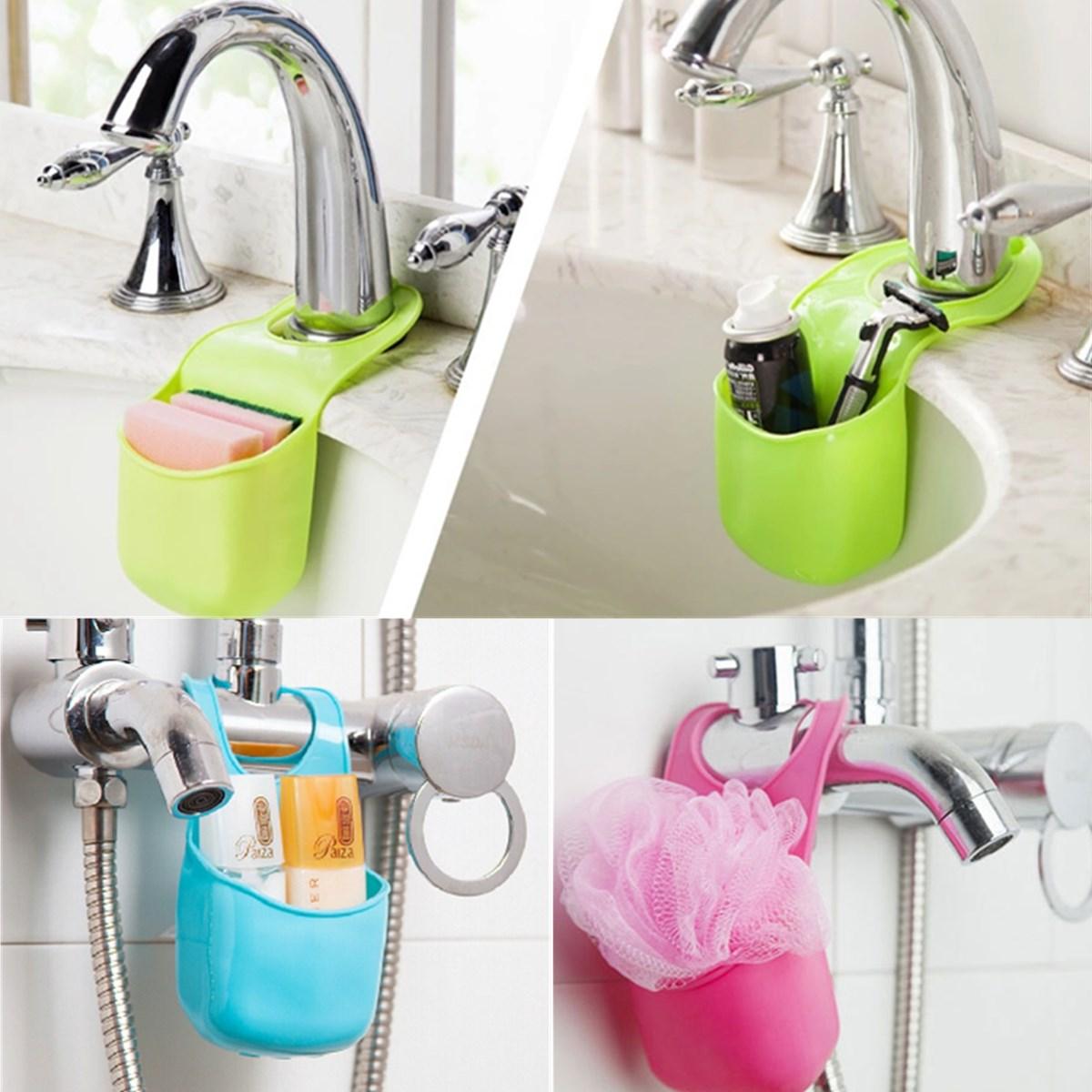 Hanging Bathroom Sink : com : Buy New Novelty Button Design Kitchen Sink Bathroom PVC Hanging ...