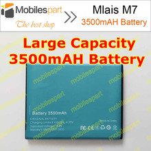 Mlais M7 Battery 100% Original High Quality 2600mAh Li-ion Battery Replacement for Mlais M7 Smartphone Free Shipping