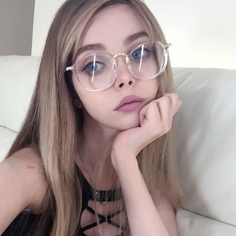 2017 designer brand eyewear frames women fashion glasses with clear lenses gold metal oculos feminino computer