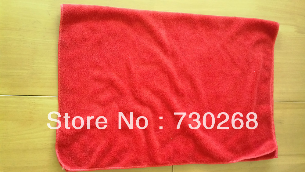 2pcs/lot 50*70cm Auto Care Microfiber Cleaning Cloths Kitchen Towels Magic Household Glasses Car Cleaning Cloth(China (Mainland))