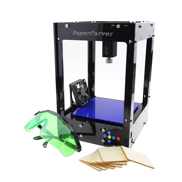 Freeshipping Supercarver laser carving V2/500mw mini DIY laser engraving machine/IC marking/laser printer/carving work(China (Mainland))