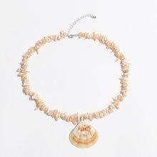 Artilady vỏ mặt dây chuyền vòng cổ hạt tuyên bố vòng cổ cho phụ nữ jewelry đảng quà tặng dropshipping(China)