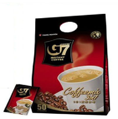 Vietnam Coffee powder 800g G7 COFFEE three in Instant Coffee TRUNG NGUYEN 50 Small Bag Sugar