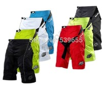Wholesale Troy lee designs TLD Moto Short Solid black Moto Shorts Bicycle Cycling shorts MTB BMX DOWNHILL Offroad Short Pants(China (Mainland))