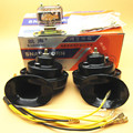 OEM 2Pcs relay with double pitch quality 24V car horn for small vehicles Waterproof speakers DL1618